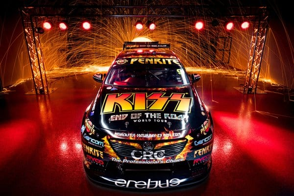 KISS Team Up With Penrite Racing AND Supercars!