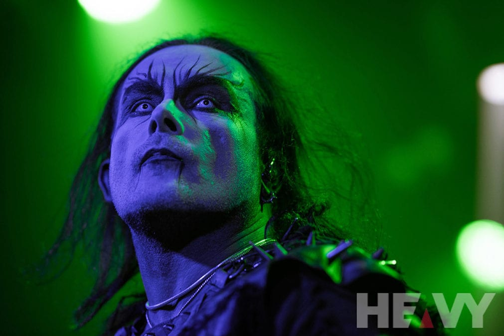 CRADLE OF FILTH and HYBRID NIGHTMARES, 4th September 2019, The Governor Hindmarsh