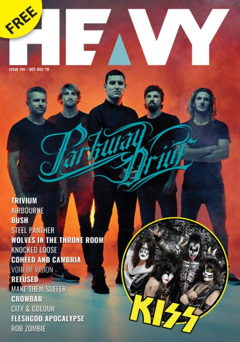 HEAVY Magazine / Oct – Dec 2019 / PRINT Issue #91