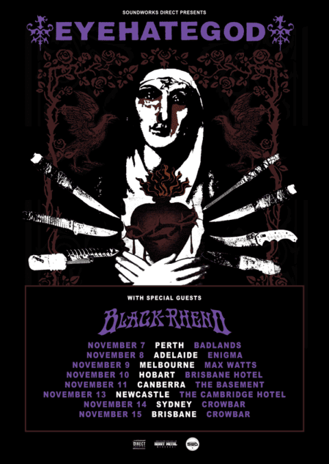 EYEHATEGOD Australian Tour Local Supports Confirmed