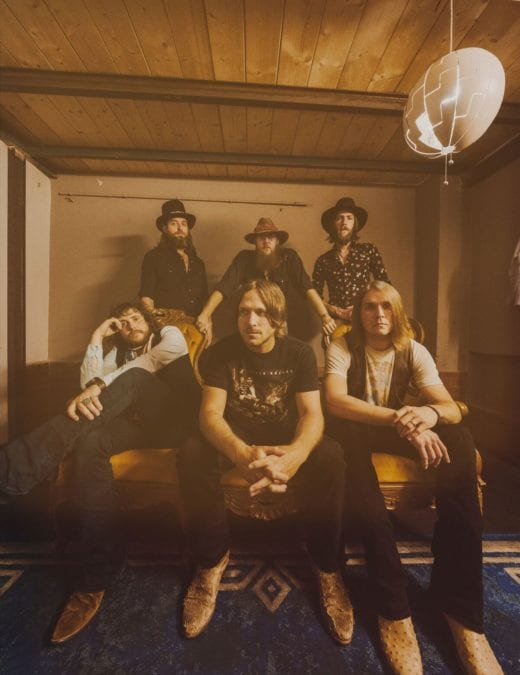 Whiskey Myers Celebrate Major Chart Success With First Top 10 Album On The US Billboard 200