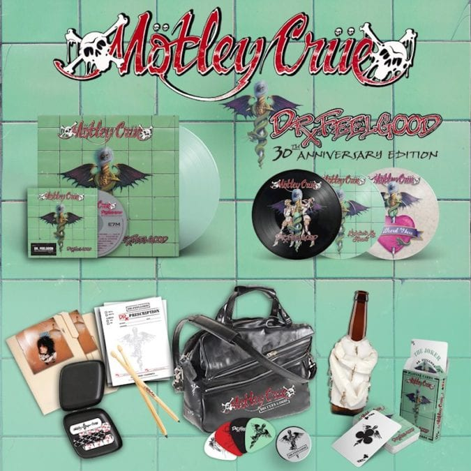 """WIN!!! 1 of 3 MÖTLEY CRÜE """"Dr. Feelgood"""" 30th Anniversary Albums!"""