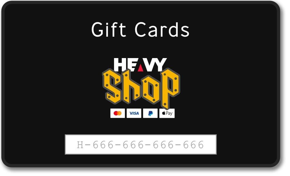 WIN a $50 HEAVY Shop Gift Card!
