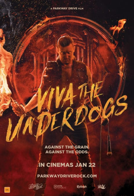 "PARKWAY DRIVE Announce Soundtrack for the Documentary Film ""Viva The Underdogs"""