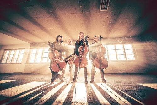 A Big Cell-O From APOCALYPTICA