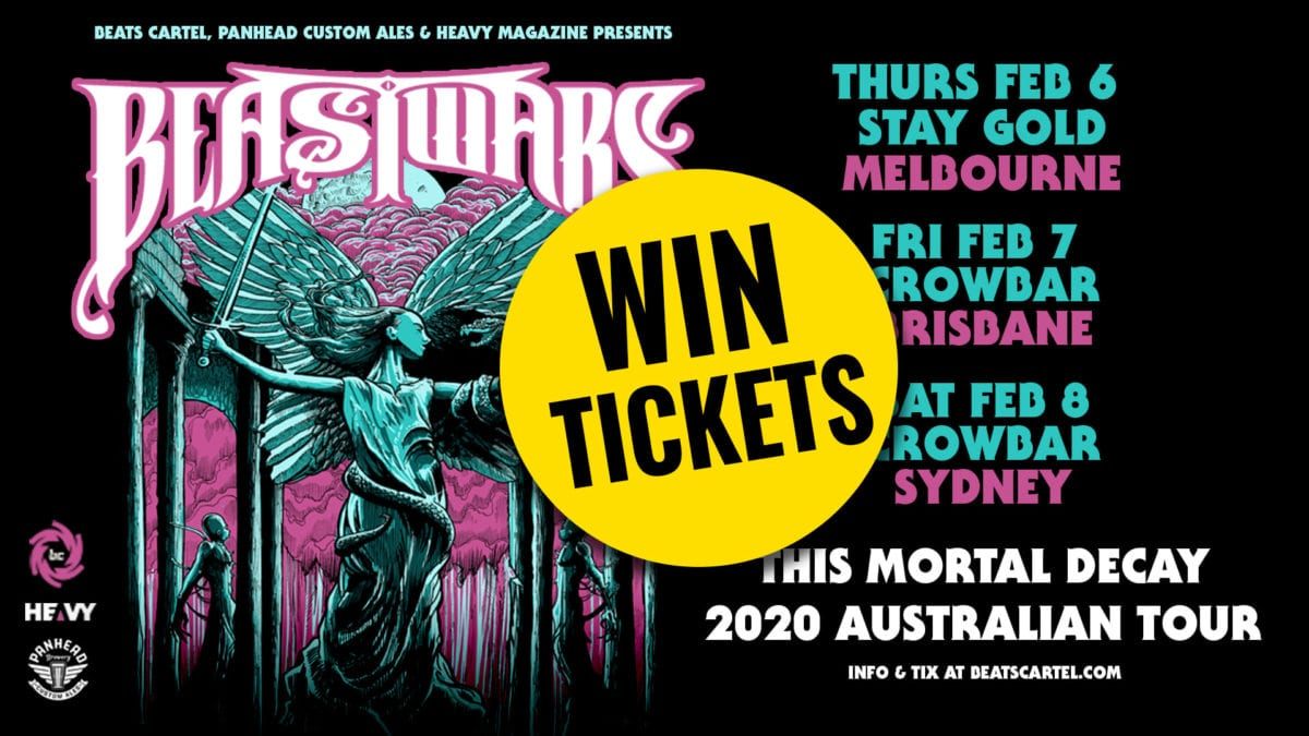 WIN! Double Pass to see BEASTWARS in either Bris, Melb or Syd!