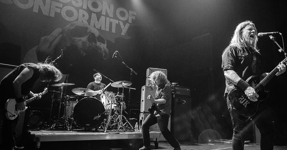 """CORROSION OF CONFORMITY, Pepper Keenan Delivers a Promise with the Upcoming Oz Tour, """"We are Not Coming Down There to Fuck Around!"""""""