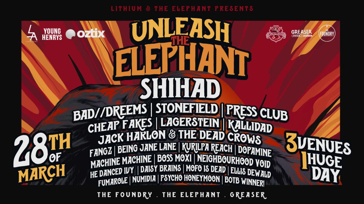 UNLEASH THE ELEPHANT Festival FULL Line-up Announce!