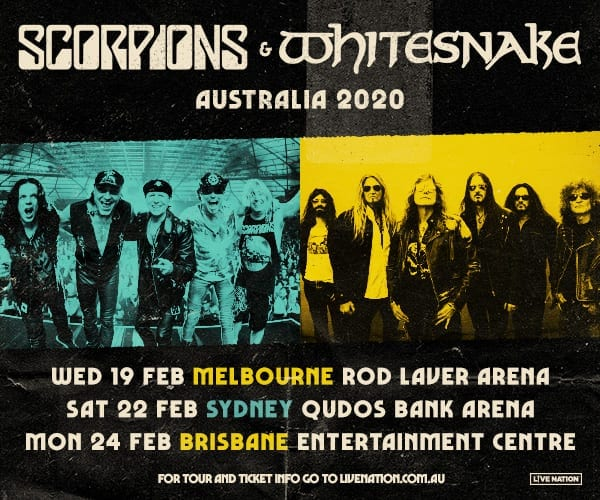 WIN! A Double Pass to see WHITESNAKE & SCORPIONS in Brisbane, Melbourne or Sydney!