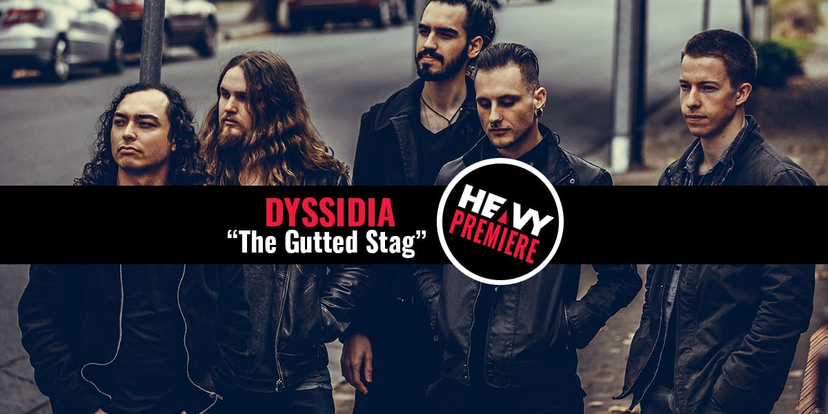 "Premiere: DYSSIDIA ""The Gutted Stag"" Song and Video from album 'Costly Signals'"