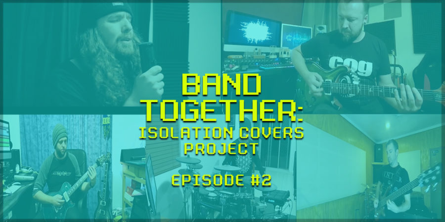 """Watch BAND TOGETHER: Isolation Covers Project – Episode #2 – Tool's """"Eulogy"""""""