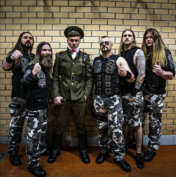 """SABATON release live version of """"The Attack Of The Dead Men"""" featuring RADIO TAPOK"""