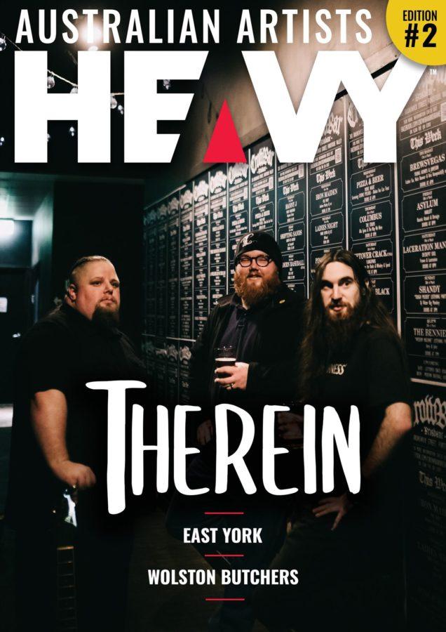 HEAVY Magazine / AUSTRALIAN ARTISTS DIGI-MAG Issue #2