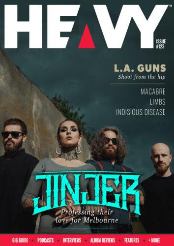 HEAVY Magazine cover