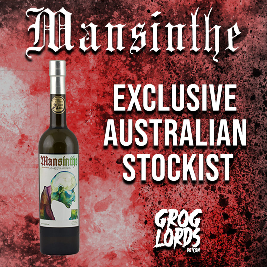Mansinthe From MARILYN MANSON Coming To GROGLORDS