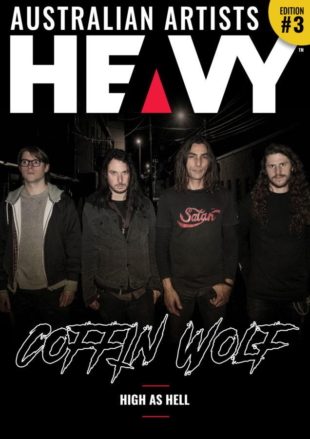 HEAVY Magazine/AUSTRALIAN ARTISTS DIGI-MAG Issue #3