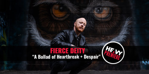 HEAVY Premiere graphic - Fierce Deity