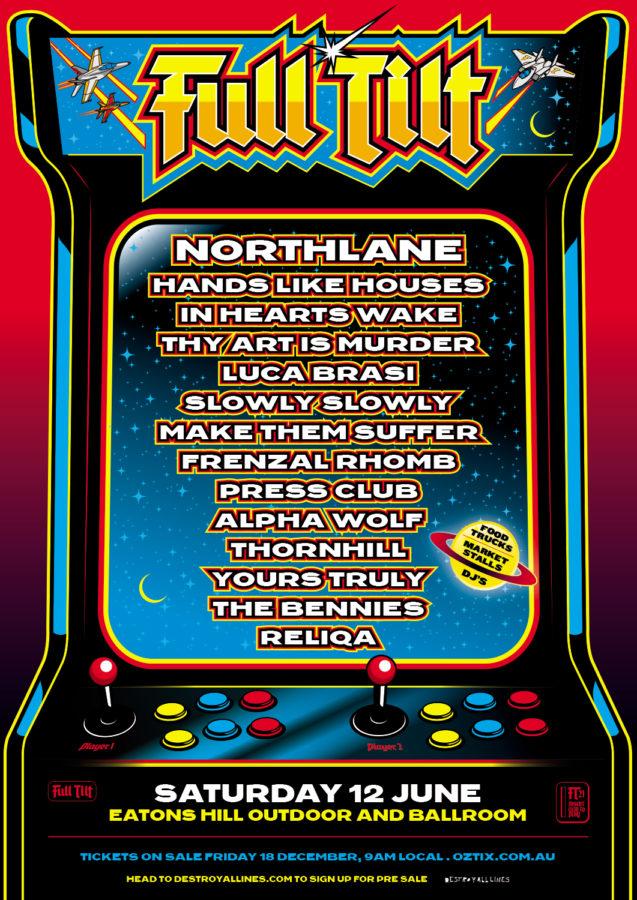 FULL TILT Festival Announced
