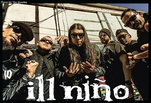 """ILL NINO Return With New Single """"Mascara"""""""