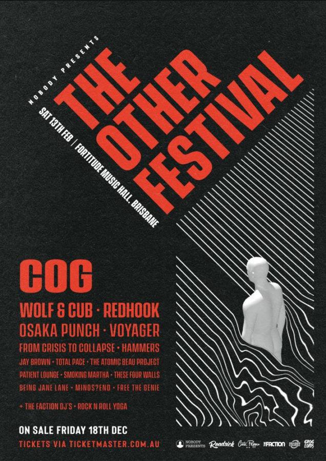 COG To Headline New Brisbane Festival