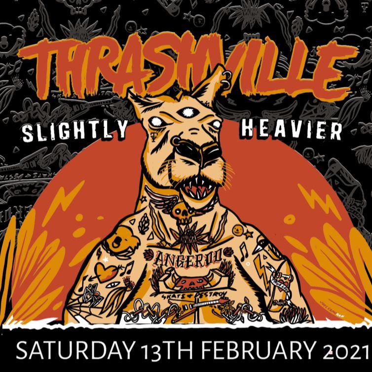 THRASHVILLE Announce Four Bands