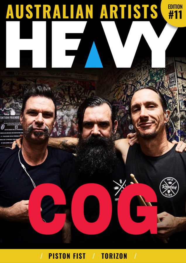 HEAVY AUSTRALIAN ARTISTS Digi-Mag Issue #11