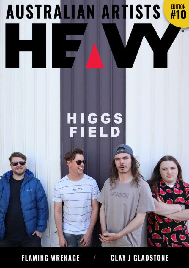 HEAVY AUSTRALIAN ARTISTS Digi-Mag Issue #10