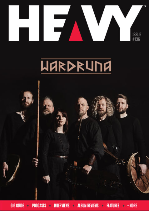 HEAVY Mag Cover