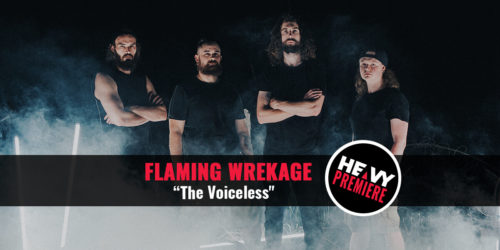 band photo of Flaming Wrekage