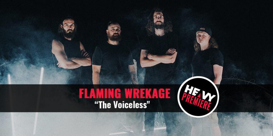 band photo of Flaming Wrekage