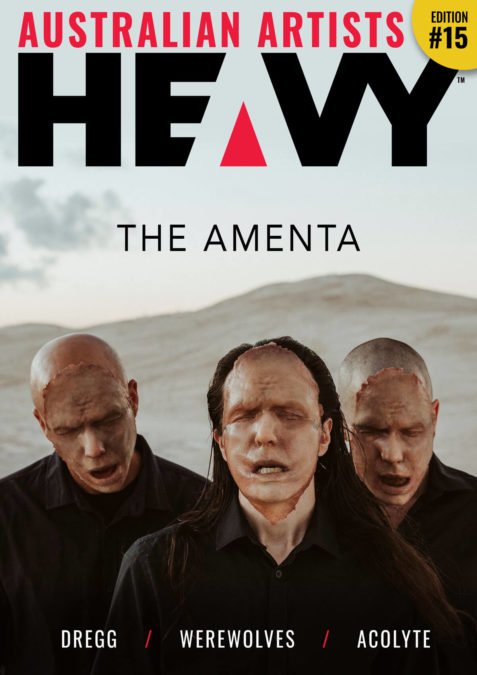 HEAVY Magzine cover