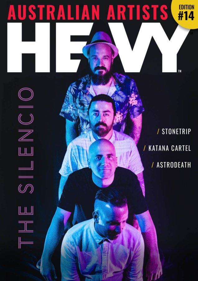 HEAVY AUSTRALIAN ARTISTS Digi-Mag Issue #14