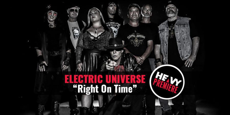 """Premiere: ELECTRIC UNIVERSE """"Right On Time"""""""