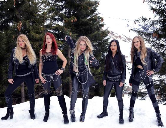 BURNING WITCHES Reveal Cover Of New Album