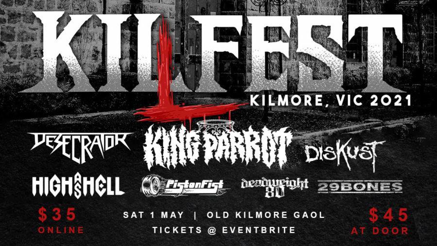 KILFEST Announced With Stellar Aussie Metal Line-Up