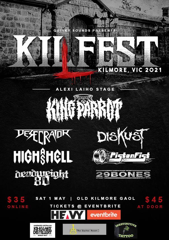 kilfest poster