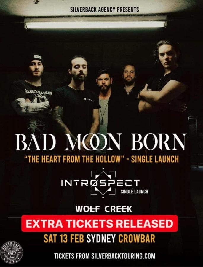 BAD MOON BORN with New Single