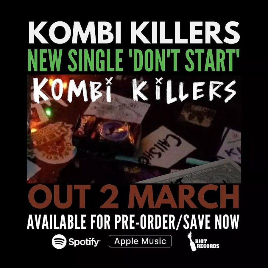 KOMBI KILLERS Release New Track