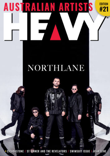 HEAVY Magazine Cover image