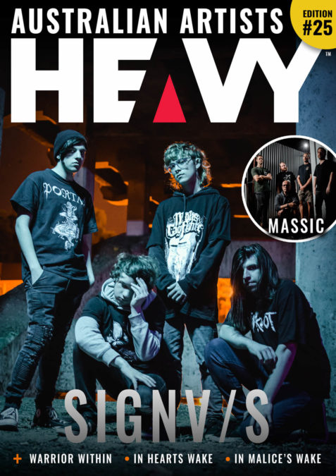 Heavy Magzine cover #25