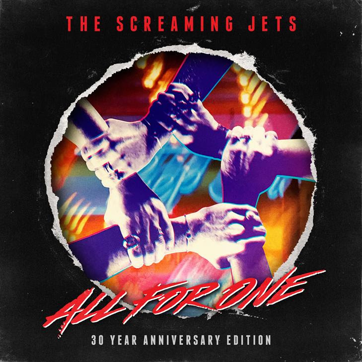 THE SCREAMING JETS ReHash Debut Album 'All For One'