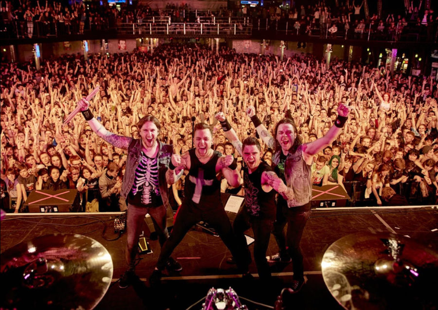 Photographic History Of BULLET FOR MY VALENTINE Released