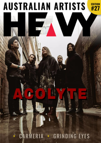 Heavy Magazine Cover #27 with Acolyte