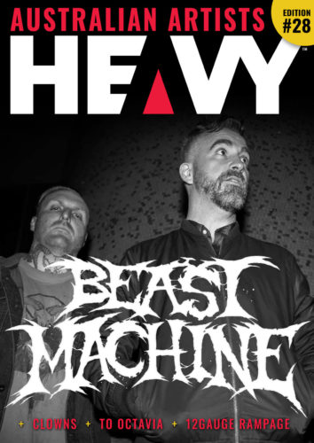 Heavy Magazine Australian edition cover
