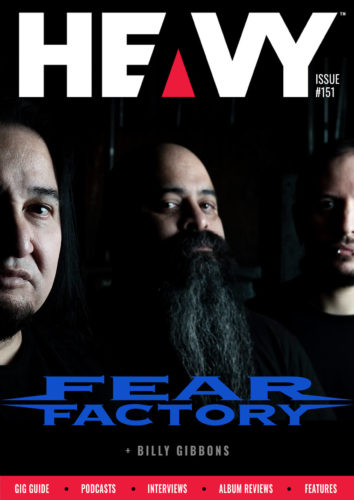 Heavy Magazine Cover #151 with Fear Factory