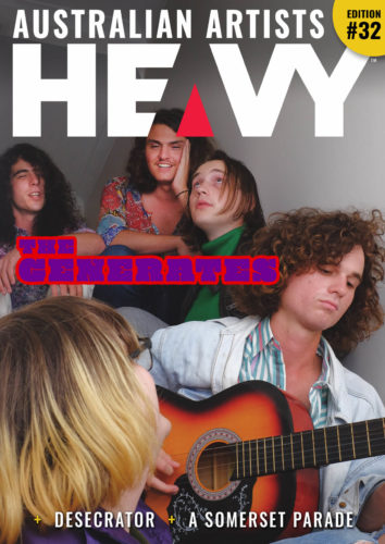 HEAVY Magazine with The Generates Edition #32