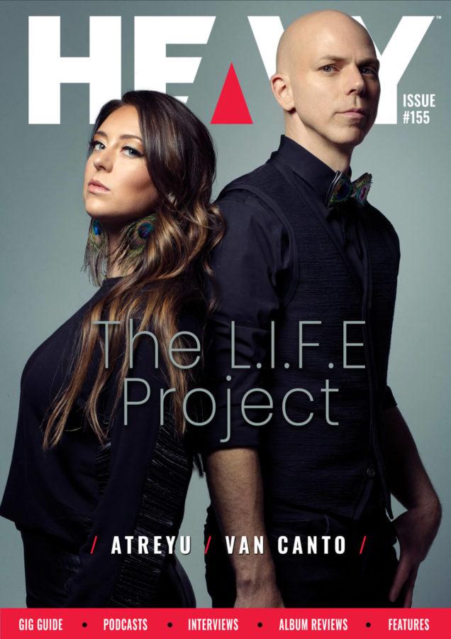 HEAVY Magazine cover with The L.I.F.E. Project