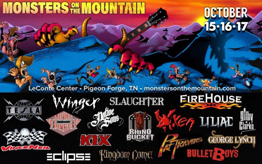 MONSTERS ON THE MOUNTAIN Set To Rock