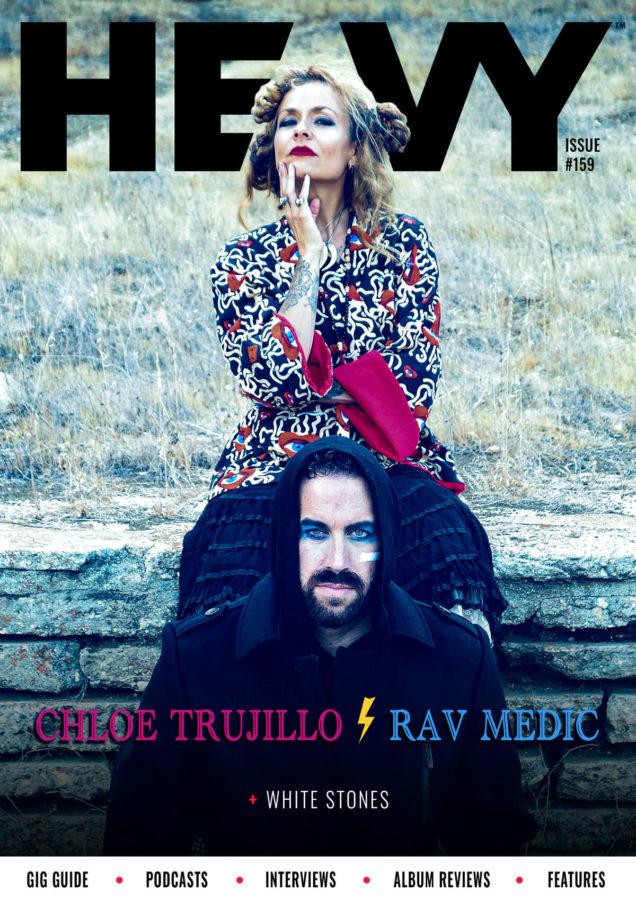 HEAVY Magazine Cover #159