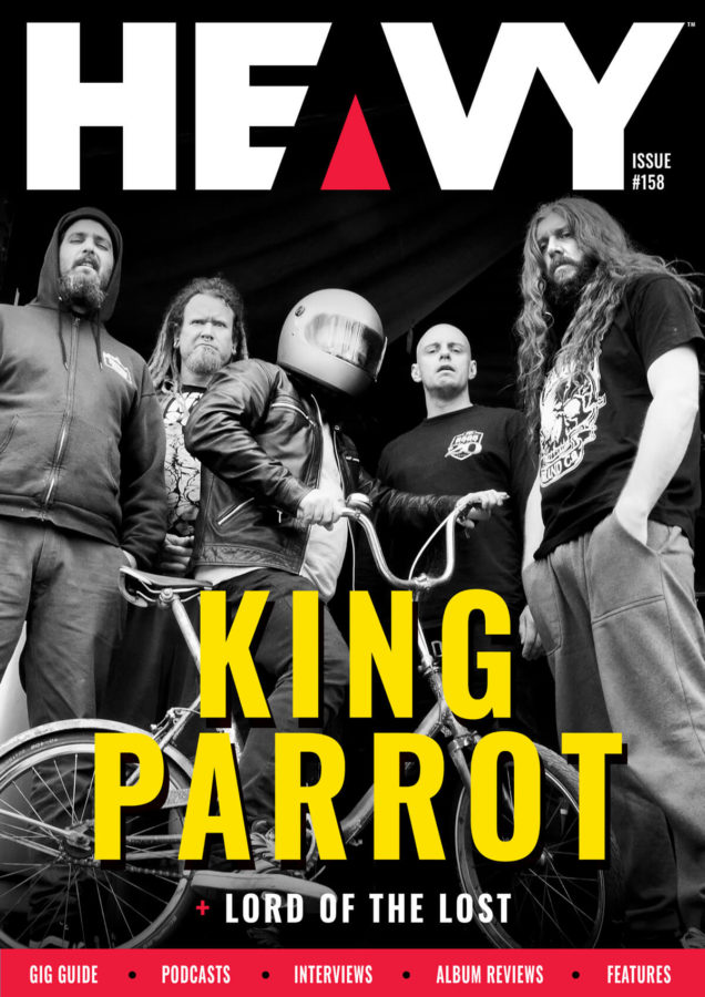 HEAVY Magazine King Parrot Cover #158